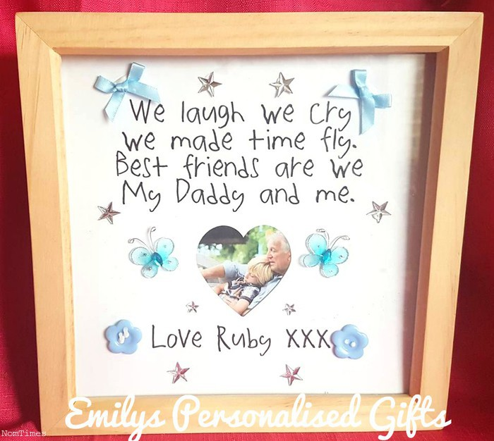 Personalised Daddy & Me Frame (St Helens, Merseyside) - NomTimes ...